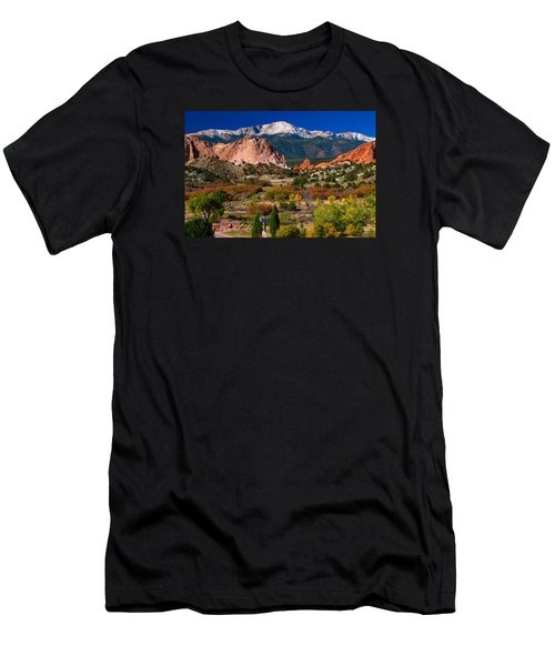 Garden Of The Gods In Autumn 2011 Men's T-Shirt (Athletic Fit)