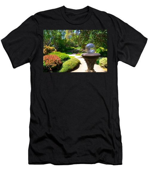 Garden Of Wishes Men's T-Shirt (Athletic Fit)