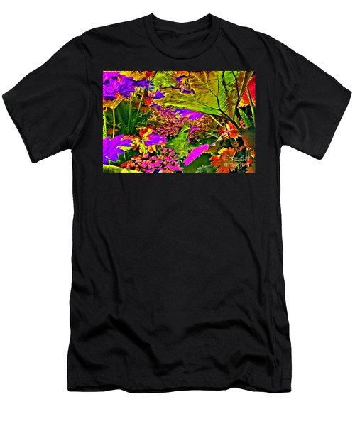 Garden Of Color Men's T-Shirt (Athletic Fit)