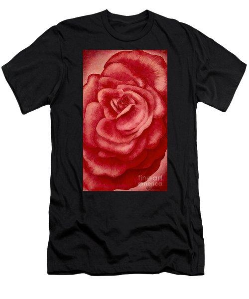 Garden Rose Men's T-Shirt (Athletic Fit)