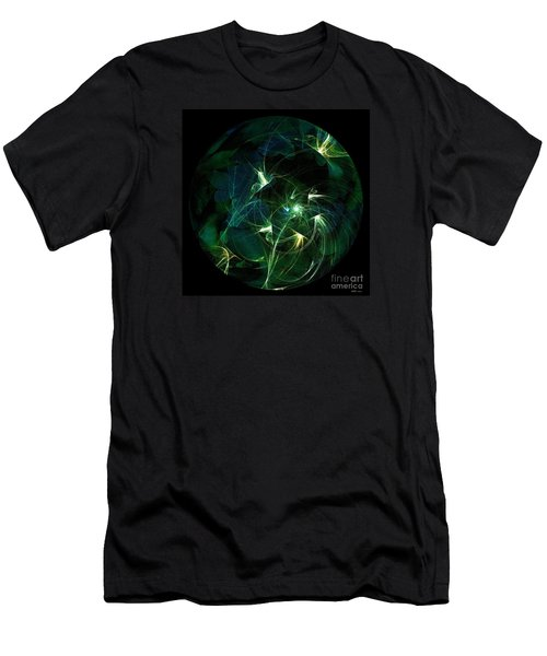 Garden Sprites Come At Night Men's T-Shirt (Slim Fit) by Elizabeth McTaggart