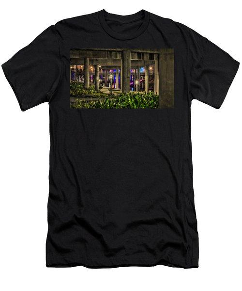 Garden Under The Bridge Men's T-Shirt (Athletic Fit)