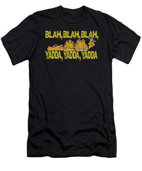 Garfield - Blah Blah Blah Men's T-Shirt (Athletic Fit)