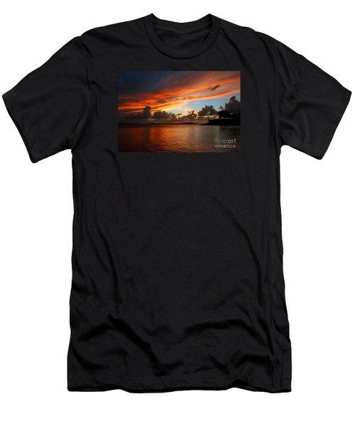 Garita En Atardecer Men's T-Shirt (Athletic Fit)