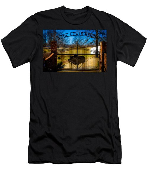 Gates Of Rock And Roll Men's T-Shirt (Athletic Fit)