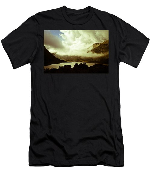 Gathering Clouds  Men's T-Shirt (Athletic Fit)