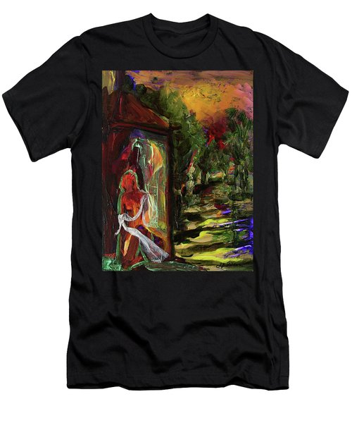 Gauguin's Polynesia  Men's T-Shirt (Athletic Fit)