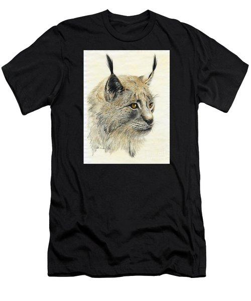 Gazing Lynx Men's T-Shirt (Athletic Fit)