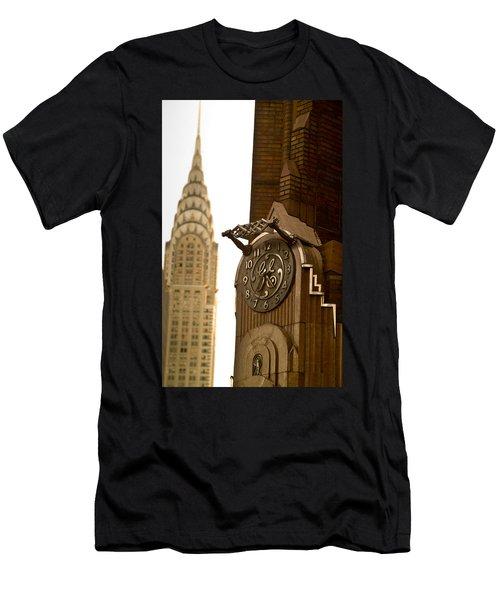 General Electric Building 1 Men's T-Shirt (Athletic Fit)