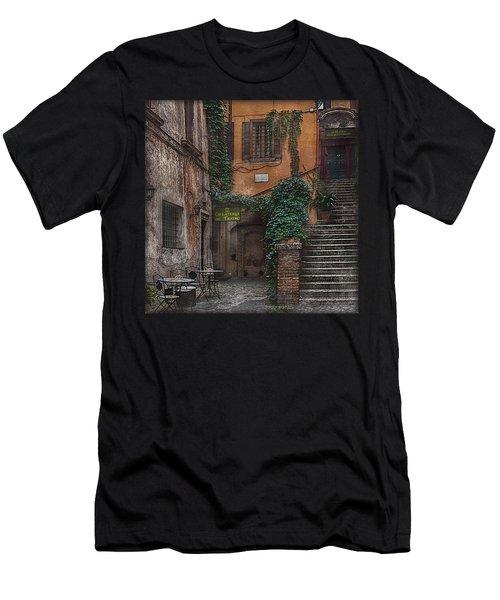 Gelateria Del Teatro Men's T-Shirt (Athletic Fit)