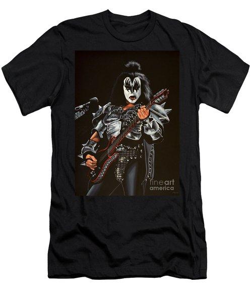 Gene Simmons Of Kiss Men's T-Shirt (Athletic Fit)