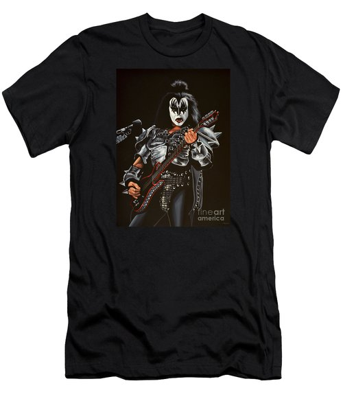 Gene Simmons Of Kiss Men's T-Shirt (Athletic Fit)