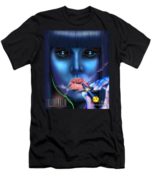 Generation Blu - Fully Loaded And Smoking Men's T-Shirt (Athletic Fit)