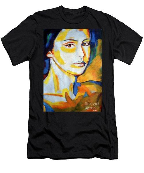 Gentle Gaze Men's T-Shirt (Athletic Fit)