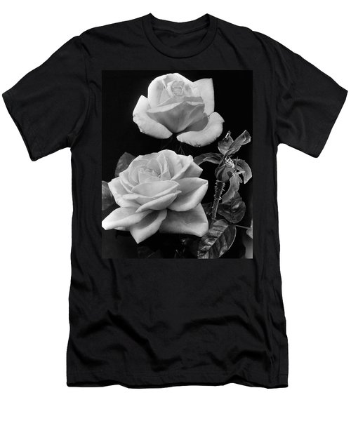 'george Arends' Roses Men's T-Shirt (Athletic Fit)