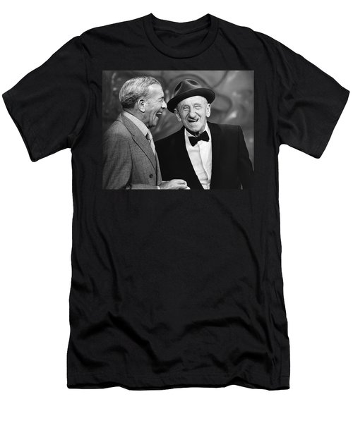 George Burns And Jimmy Durante Men's T-Shirt (Athletic Fit)