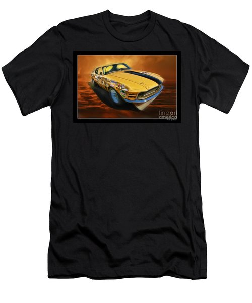 George Follmer 1970 Boss 302 Ford Mustang Men's T-Shirt (Athletic Fit)
