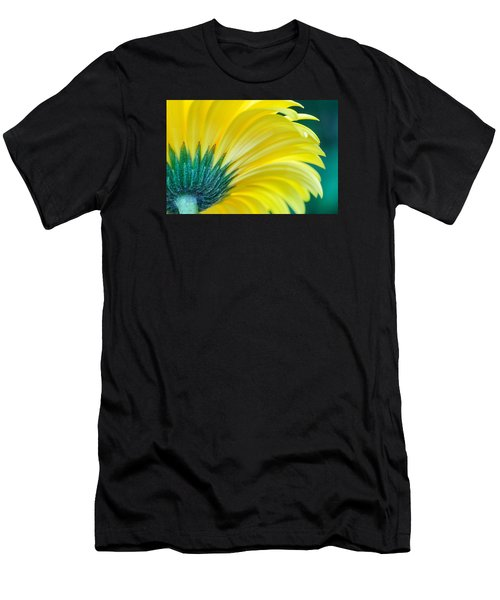 Men's T-Shirt (Athletic Fit) featuring the photograph Gerber Daisy by Garvin Hunter