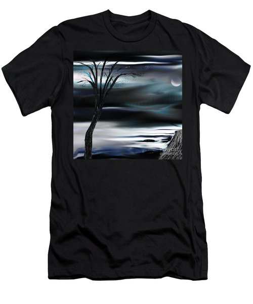 Get Back To Serenity Men's T-Shirt (Slim Fit) by Yul Olaivar