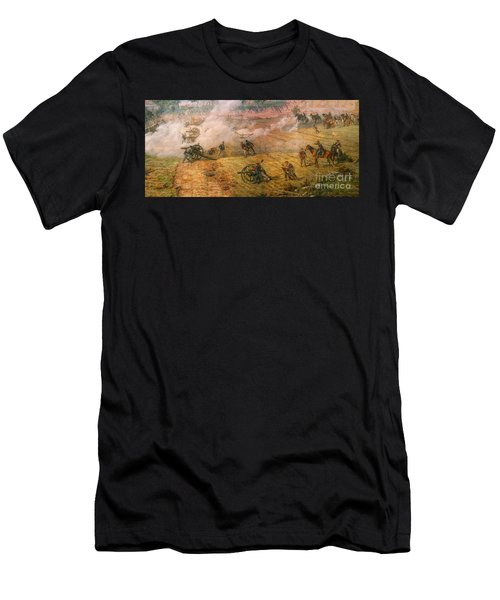 Gettysburg Cyclorama Detail One Men's T-Shirt (Athletic Fit)