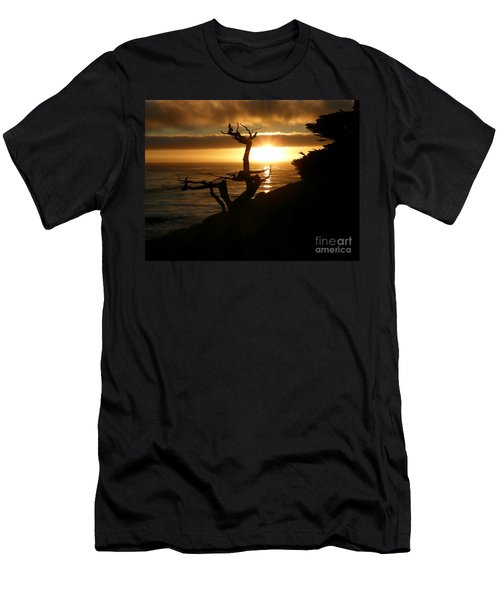 Ghost Tree At Sunset Men's T-Shirt (Athletic Fit)