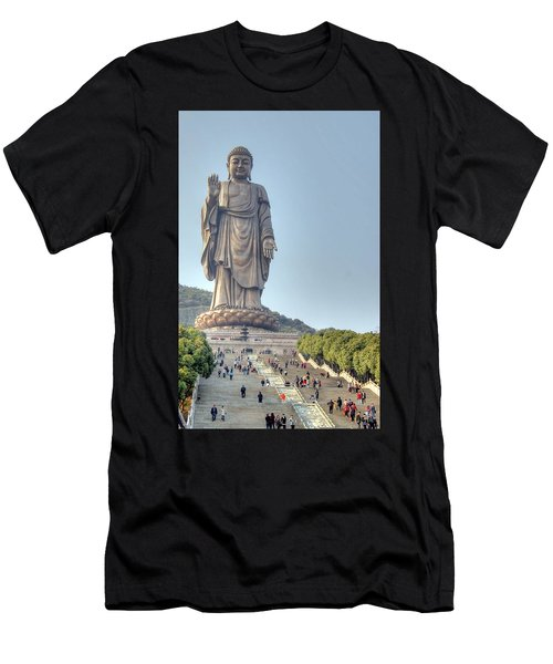 Giant Buddha Men's T-Shirt (Athletic Fit)