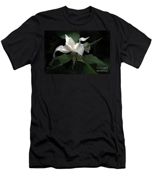 Giant Magnolia Men's T-Shirt (Athletic Fit)