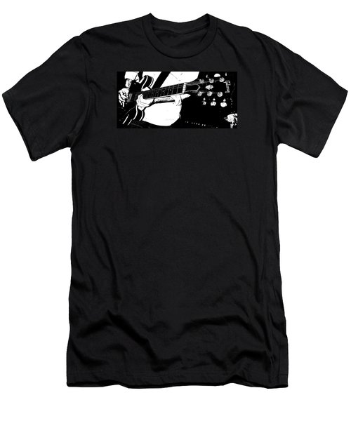 Gibson Guitar Graphic Men's T-Shirt (Slim Fit) by Chris Berry