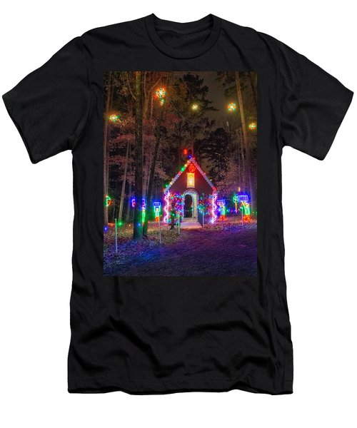 Ginger Bread House Men's T-Shirt (Athletic Fit)