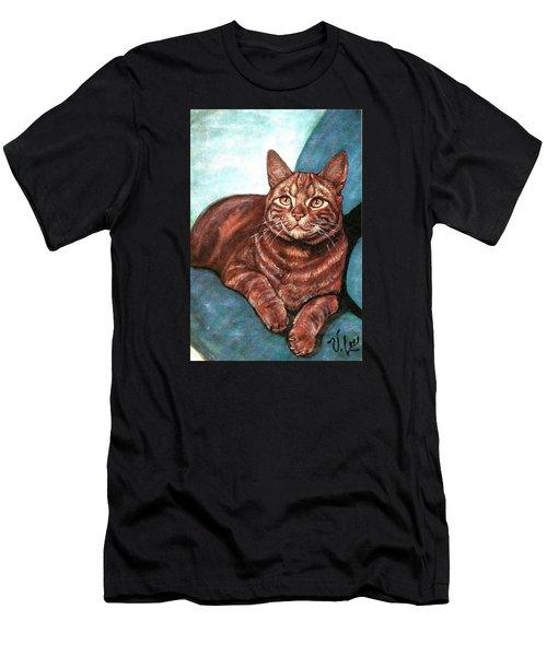 Ginger Tabby Men's T-Shirt (Athletic Fit)