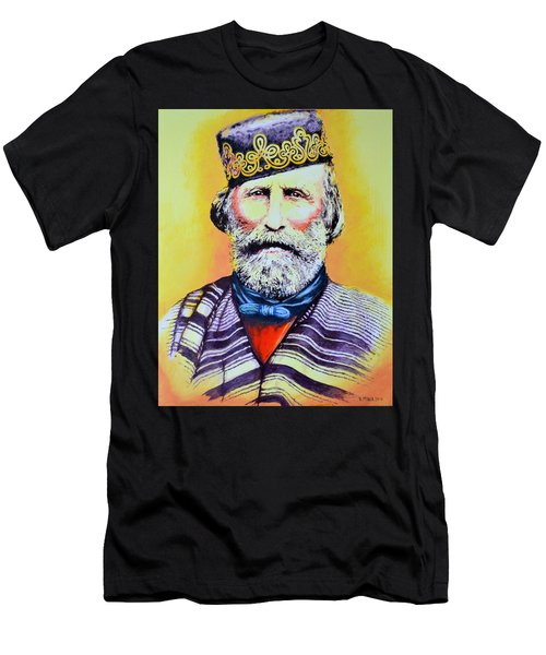Giuseppe Garibaldi Men's T-Shirt (Athletic Fit)