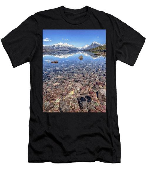 Glacial Lake Mcdonald Men's T-Shirt (Athletic Fit)