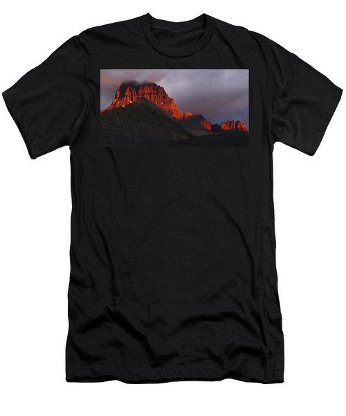 Glacier Sunrise Men's T-Shirt (Athletic Fit)