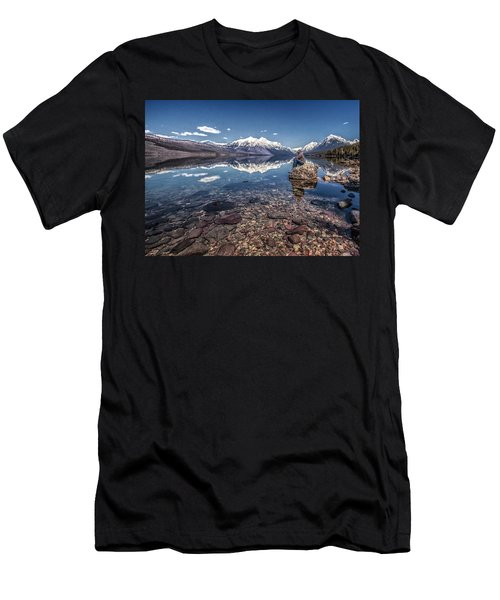 Glacier Zen Men's T-Shirt (Athletic Fit)