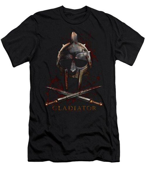 Gladiator - Helmet Men's T-Shirt (Athletic Fit)