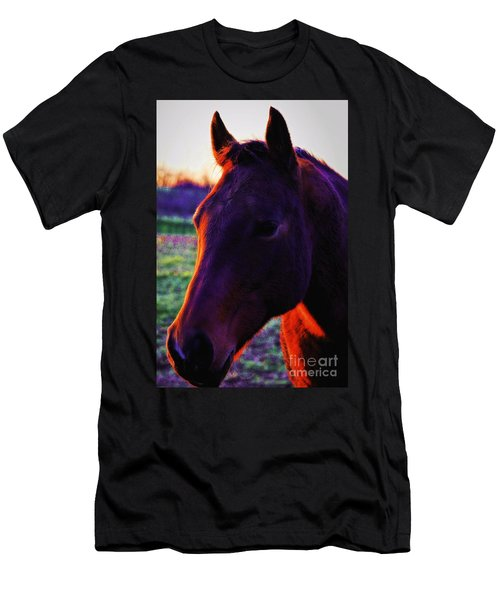Glamour Shot Men's T-Shirt (Slim Fit) by Robert McCubbin