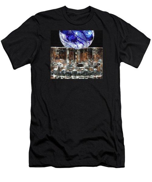 Glass On Glass Men's T-Shirt (Slim Fit) by Jolanta Anna Karolska