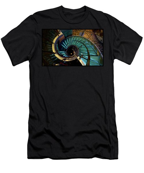Glass Stairwell Men's T-Shirt (Athletic Fit)