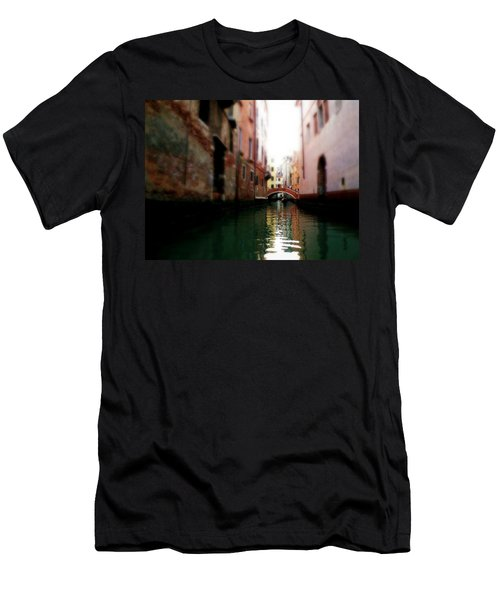 Gliding Along The Canal  Men's T-Shirt (Athletic Fit)