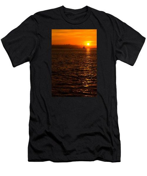 Glimmer Men's T-Shirt (Slim Fit) by Chad Dutson