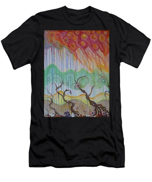 Climate Change, The Final Chapter Men's T-Shirt (Slim Fit) by Douglas Fromm