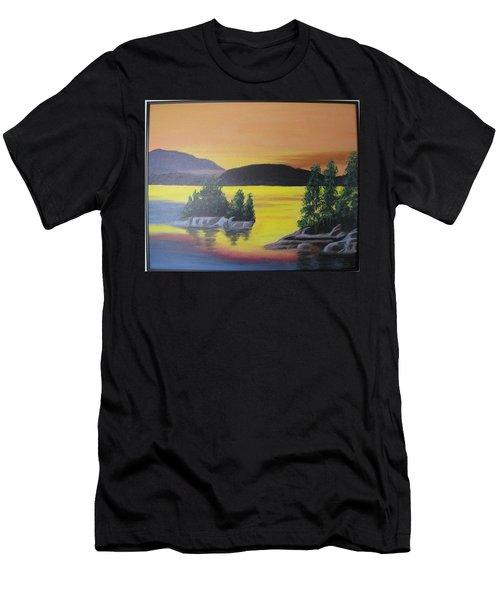 Glorious Sunrise Men's T-Shirt (Athletic Fit)