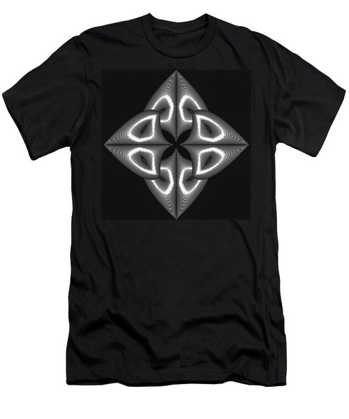 Glow In Darkness Men's T-Shirt (Athletic Fit)