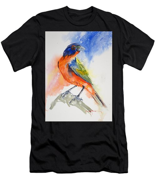 Da188 Glow Of The Painted Bunting Daniel Adams Men's T-Shirt (Athletic Fit)