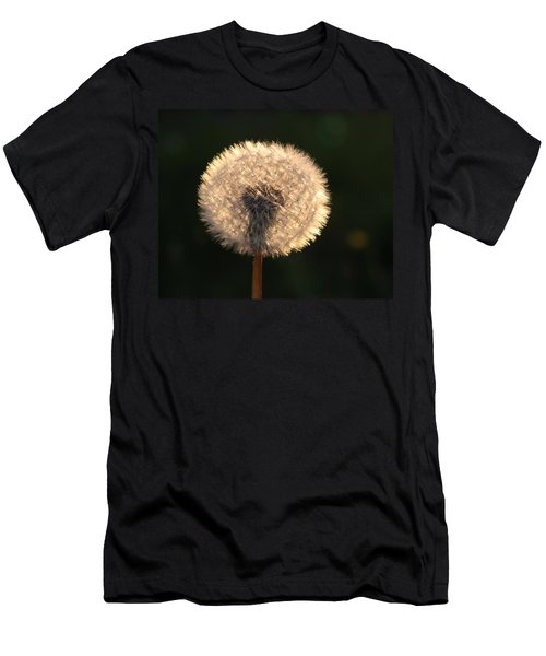Glowing Dandelion Clock Men's T-Shirt (Athletic Fit)