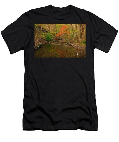 Glowing Fall Men's T-Shirt (Athletic Fit)