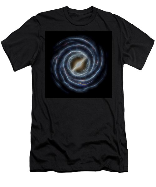 Glowing Milky Way Men's T-Shirt (Athletic Fit)