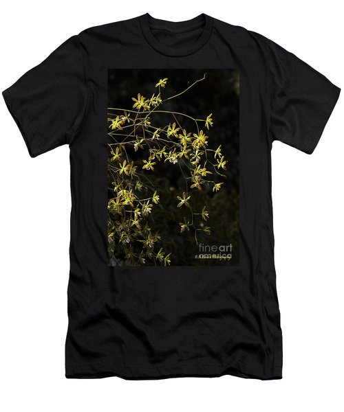 Glowing Orchids Men's T-Shirt (Athletic Fit)