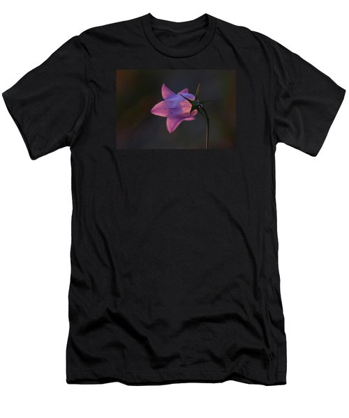 Glowing Sunset Flower Men's T-Shirt (Athletic Fit)