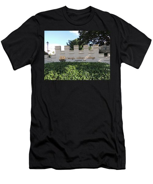 Men's T-Shirt (Slim Fit) featuring the photograph Gmc Milledgeville by Aaron Martens